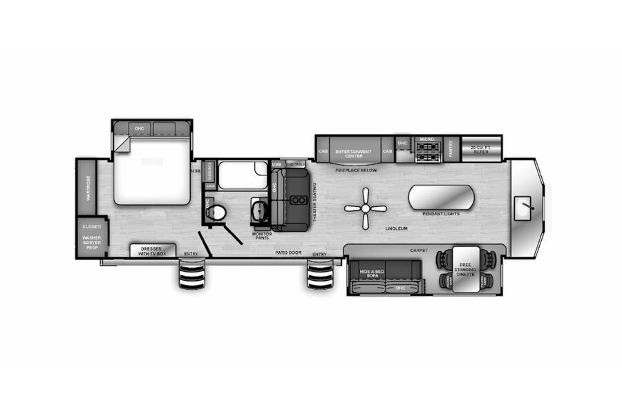 Floor plan for STOCK#9784