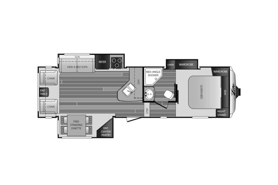 Floor plan for STOCK#10006A